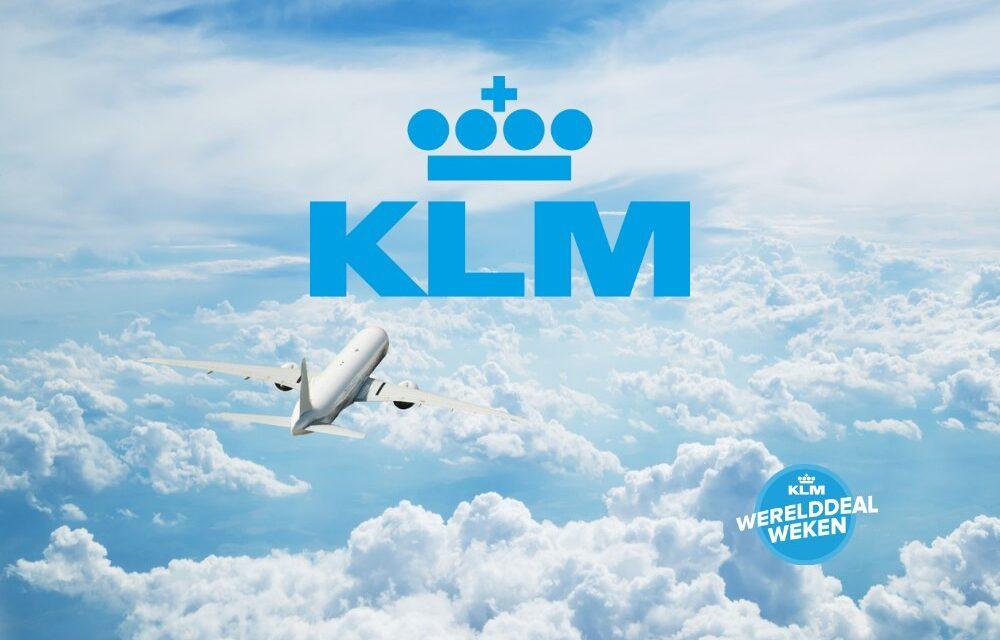 KLM Werelddeal Weken 2021 | Benieuwd wanneer? Lees meer…