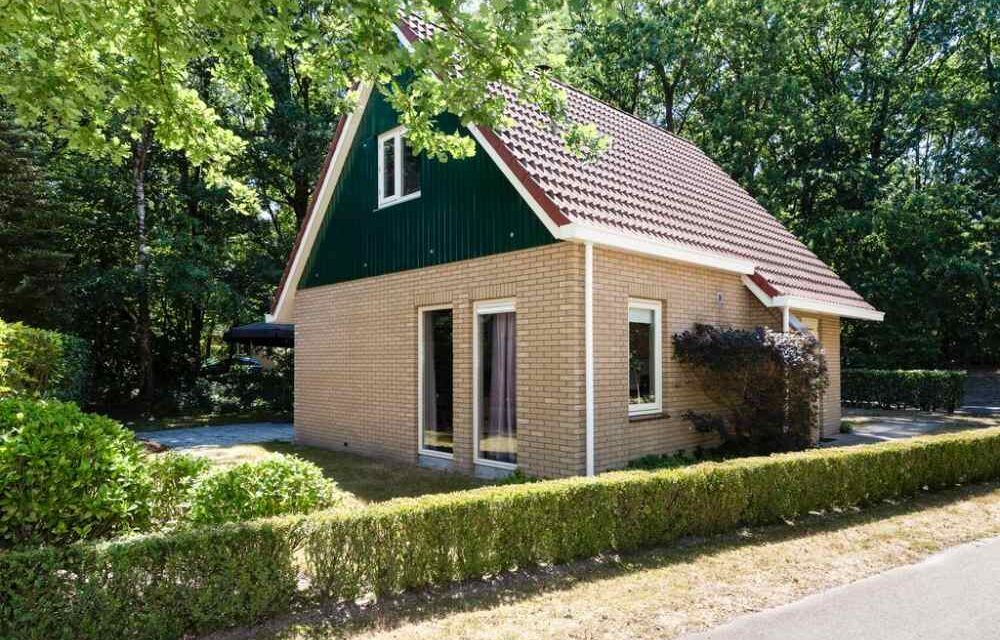 Luxe bungalow (6p) met 44% korting | Incl. sauna & zonnebank