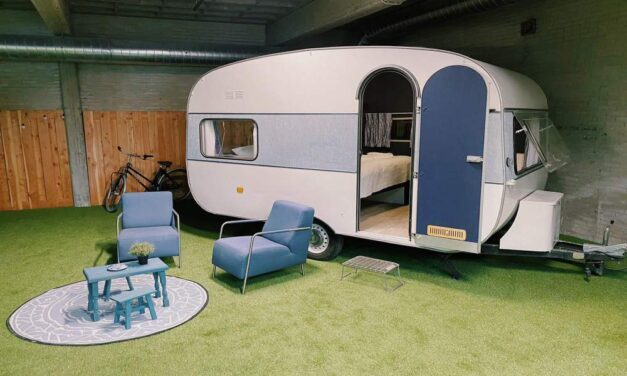Tip! Indoor camping in Amsterdam | Culinair arrangement NU te boeken