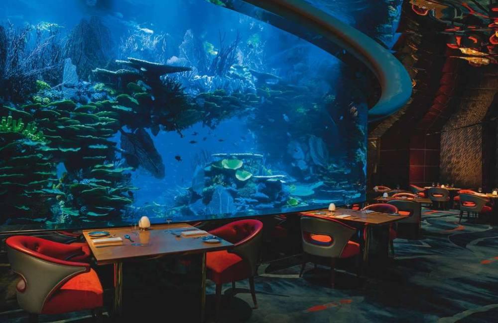 7 sterren hotel restaurant