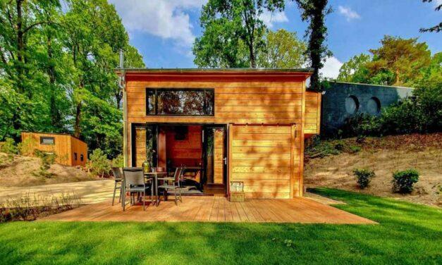 Tiny House (4p) op Droompark Maasduinen | Last minute nu €205,-