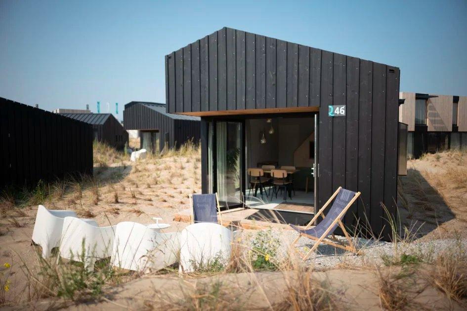 WOW! Luxe lodge in de duinen van Zandvoort | Midweek slechts €268,-