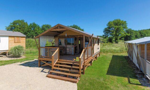 Ecoluxe tent @ 5* camping Frankrijk | In augustus met 23% korting