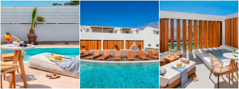 griekenland hotel met prive zwembad