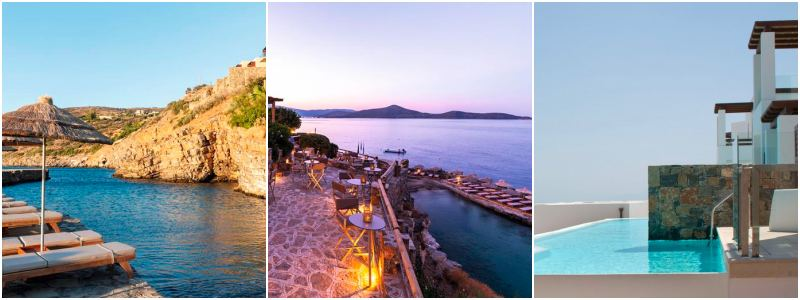 griekenland hotel prive zwembad