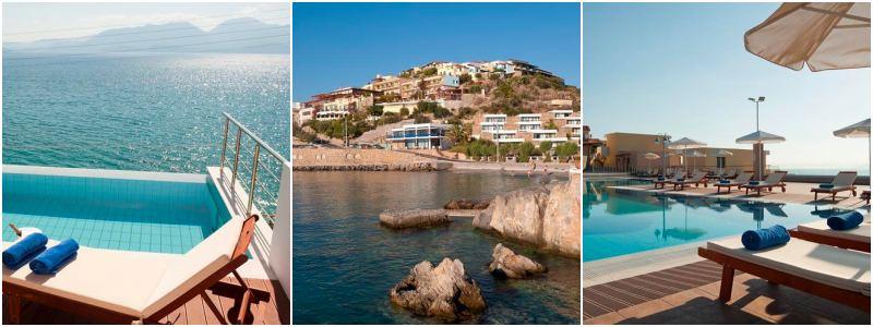 griekenland hotel met eigen zwembad