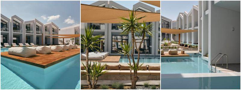 griekenland hotel met zwembad