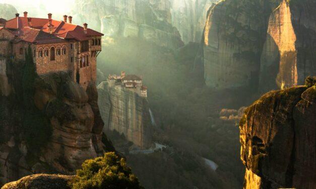 Meteora Griekenland   Zwevende kloosters & spectaculaire uitzichten