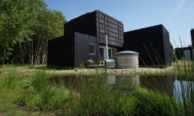 Wellness lodge met sauna & hottub in Drenthe | Midweek €141,- p.p.