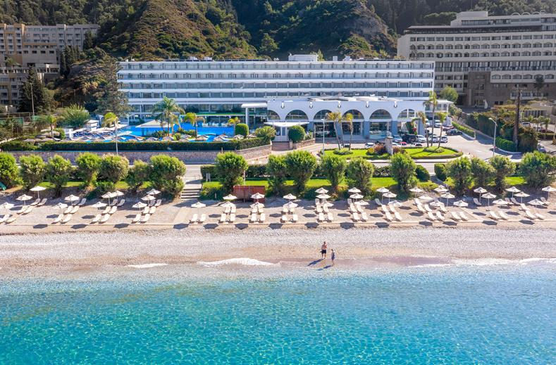 All inclusive Rhodos in juni 2021 | Luxe 4* hotel aan 't strand €467,-
