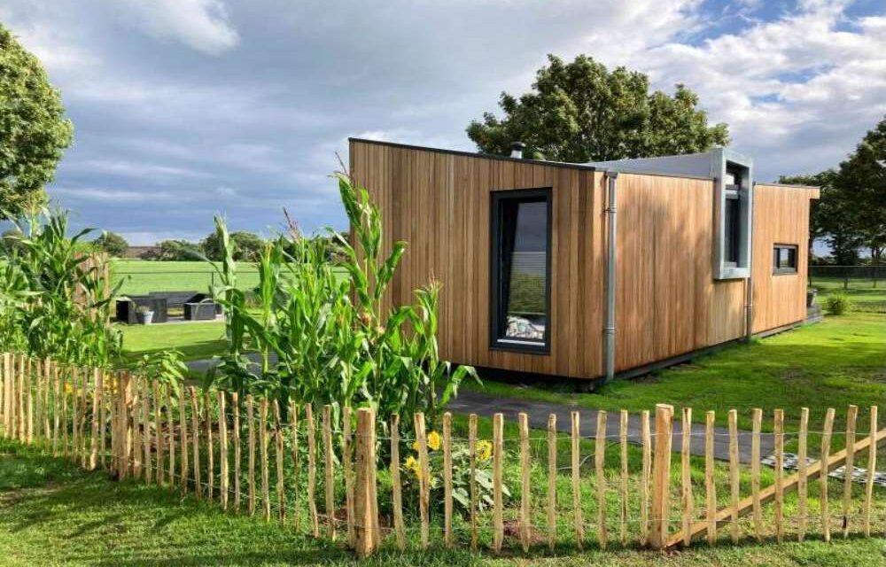 Tiny House in het mooie Friesland   Last minute slechts €63,50 p.p.
