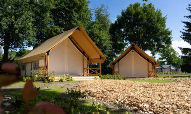 Glampingtent @ EuroParcs Resort Kaatsheuvel   Midweek nu €253,-