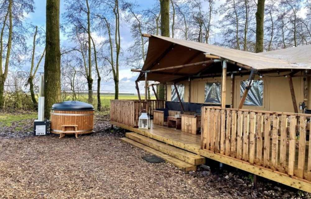 Last minute luxe glamping deal (6P)   Midweek incl. sauna nu €161,- P.P.