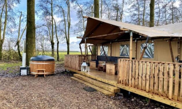 Last minute luxe glamping deal (6P) | Midweek incl. sauna nu €161,- P.P.