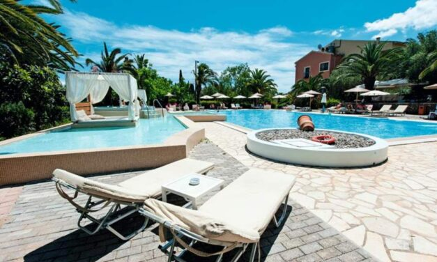 Luxe 4* hotel (9,2/10) @ Corfu   8 dagen incl. ontbijt & diner €622,-