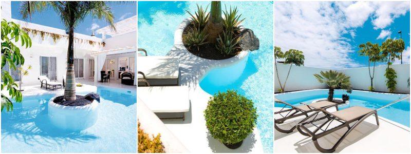 hotel met prive zwembad spanje