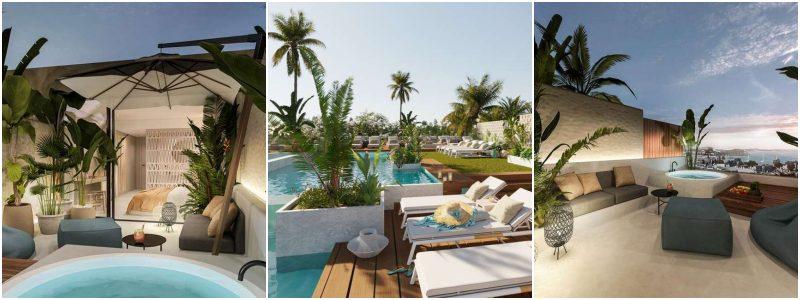 hotel met privezwembad spanje