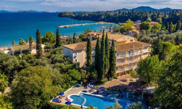 Tip! Hotel Ipsos Beach op Corfu   8 dagen in juli incl. ontbijt €445,-