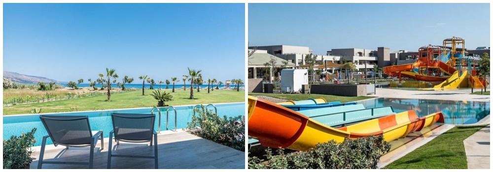 hotel met glijbanen Kreta