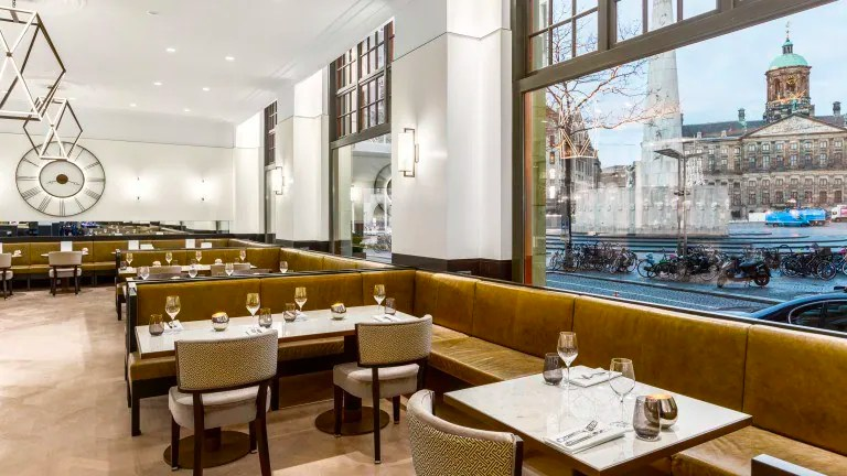 Luxe 5* hotel op de Dam Amsterdam €125,-   3 dagen incl. ontbijt & meer