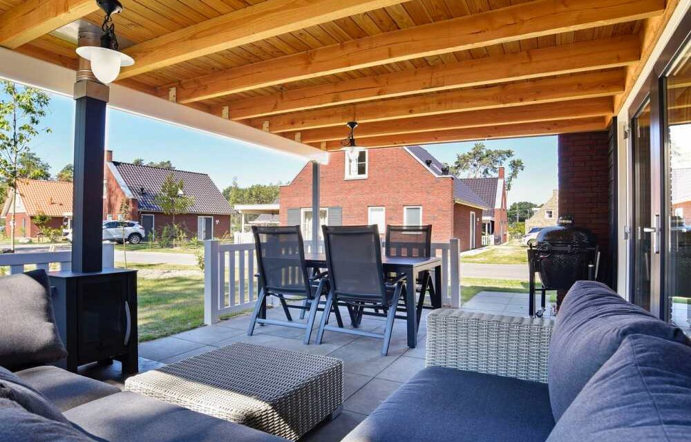 4 dagen @ Landal de Vers | Villa met overdekte veranda & Green Egg bbq