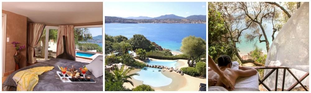 Hotel met prive zwembad Frankrijk