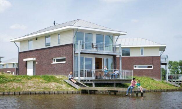 8-persoons villa aan het water in Friesland   Last minute 47% korting