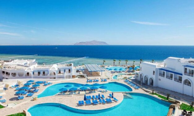 5* all inclusive Egypte deal   Ultra luxe resort aan 't strand €378,-