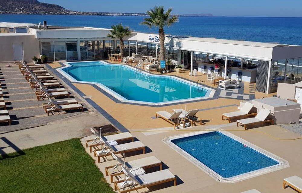8 dagen naar het zonnige Kreta   4* hotel nu slechts €334,-