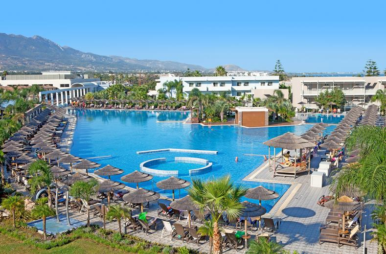 5* Blue Lagoon Resort op Kos   Last minute 8 dagen all inclusive €541,-