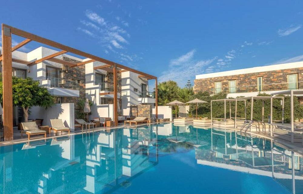 Luxe 5* hotel op Kreta   8 dagen incl. ontbijt & diner slechts €584,-