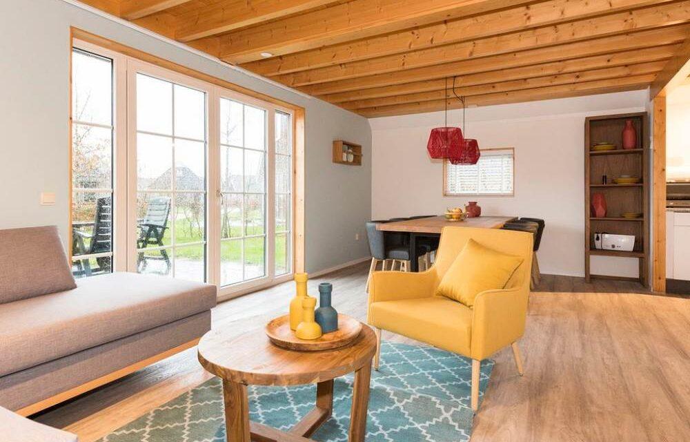 Luxe bungalow met sauna in Drenthe | 4 dagen NU met 31% korting