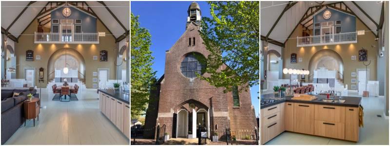 overnachten in een kerk in Friesland
