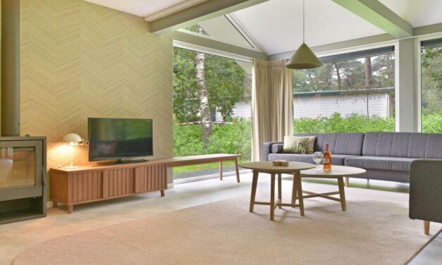 Luxe bungalow met sauna @ de Veluwe   Midweek met 30% korting